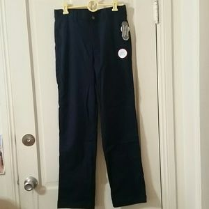 NWT. Navy blue youth pants. Size 16.